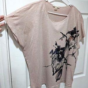 Forever 21 Tops - ❕f21 pink flower top❕